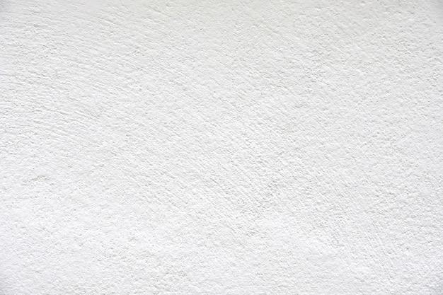 テクスチャの背景のための空と空のコンクリート石膏壁の抽象的な白の色