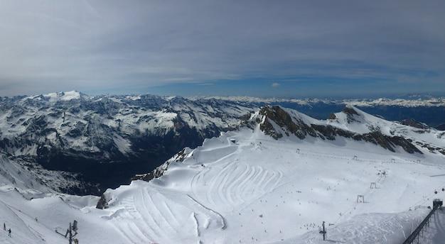 Обзор австрийского горнолыжного курорта в альпах