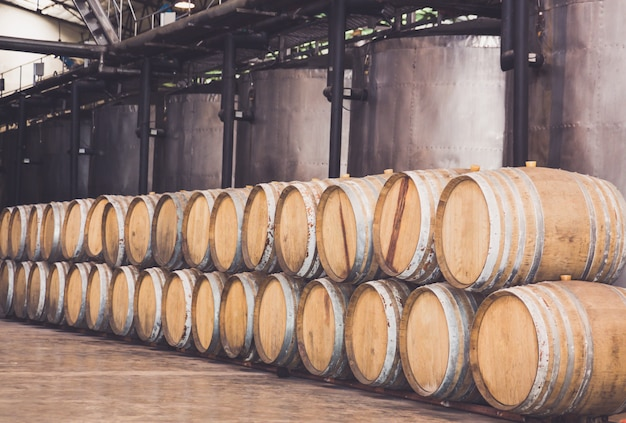 ワインセラーのバレル
