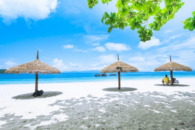 美しいビーチ、そして夏の休暇
