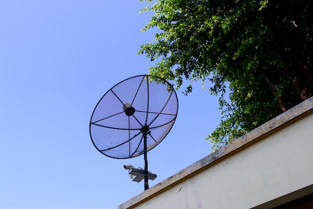 テレビ受信用の衛星放送受信アンテナ