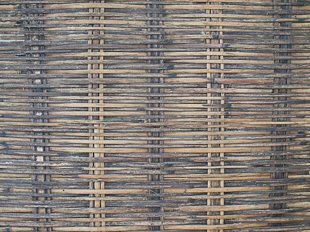 竹のバスケット