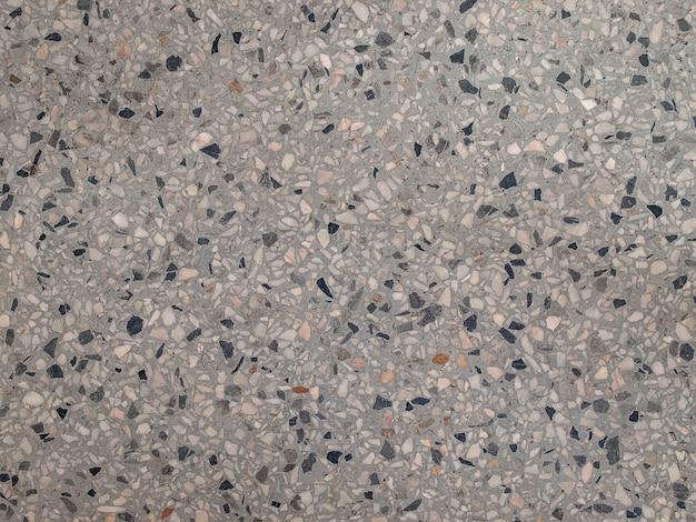 灰色のテラッツォの床