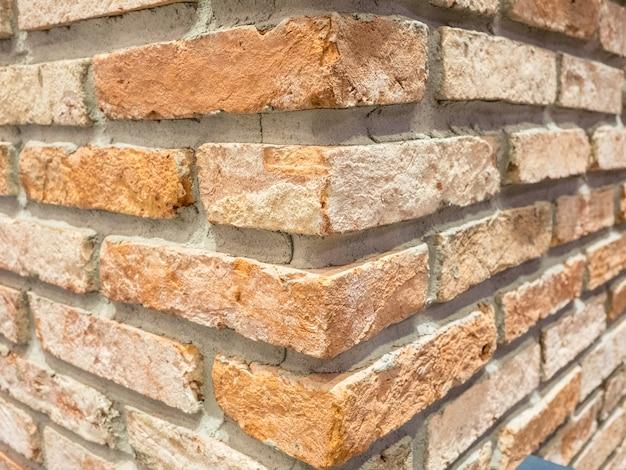 クローズアップのレンガの壁