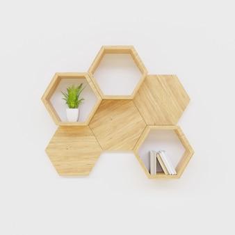 六角棚本と植物