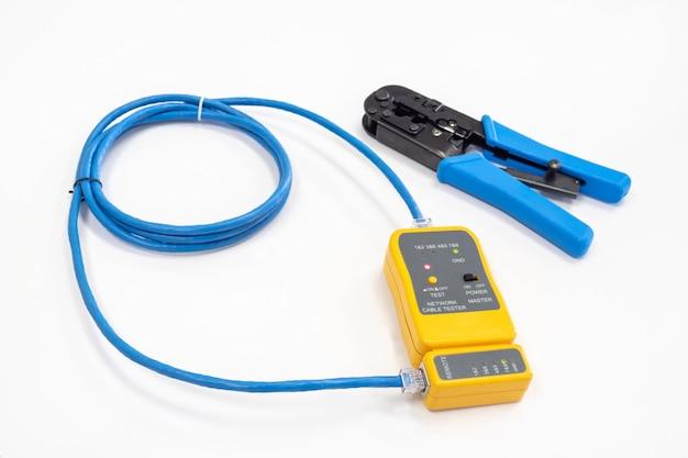 Тестирование сетевого кабеля