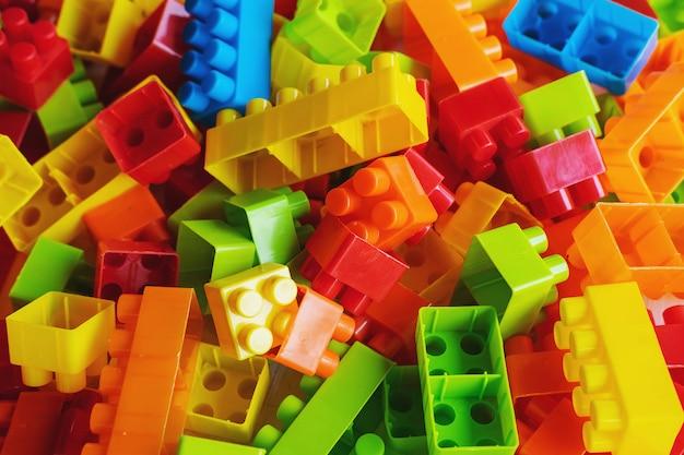 おもちゃのブロックの背景
