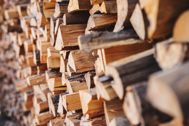 Фон с дровами