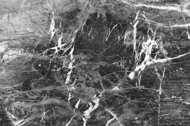 Черный мрамор природный узор для фона, абстрактный натуральный мрамор черный и белый