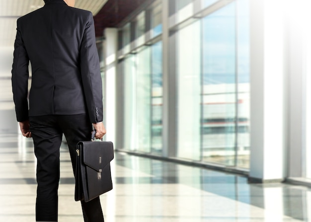 Бизнесмен, проведение портфель