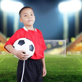 子供のサッカー選手