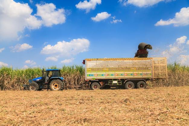 サトウキビ収穫機