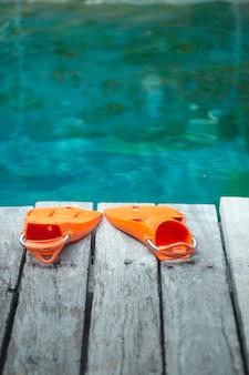 ダイビング用オレンジフライパ