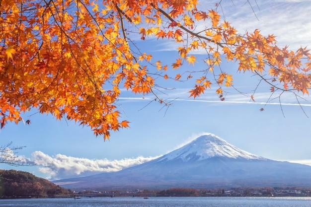 富士山の早朝