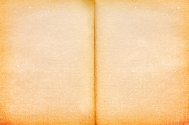 Пустая старая винтажная предпосылка текстуры бумаги страницы.