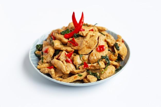 チキンの聖バジル炒め