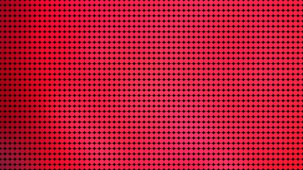 赤い丸ドットパターン背景