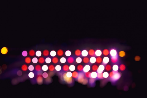 Фоновое изображение с расфокусированным размытым сценическим освещением