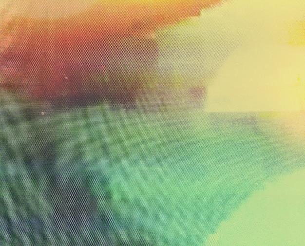 抽象的な画面グリッチの背景