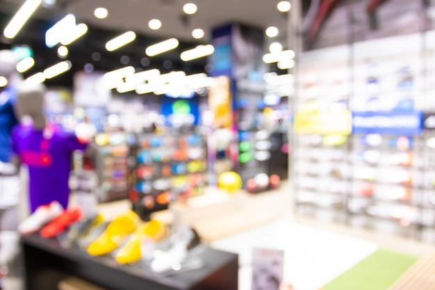ボケ味とデパートの多重ショッピングモールで抽象的なぼかし