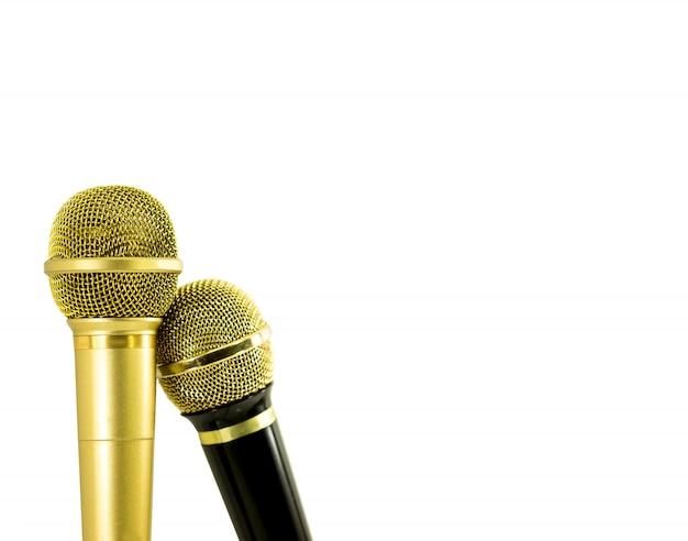 Микрофон пар изолированный