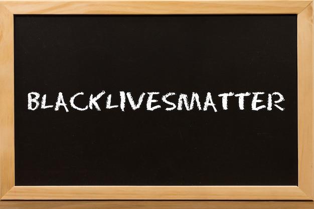 黒の生活は、黒板にコピースペースを持つ重要なテキストです。
