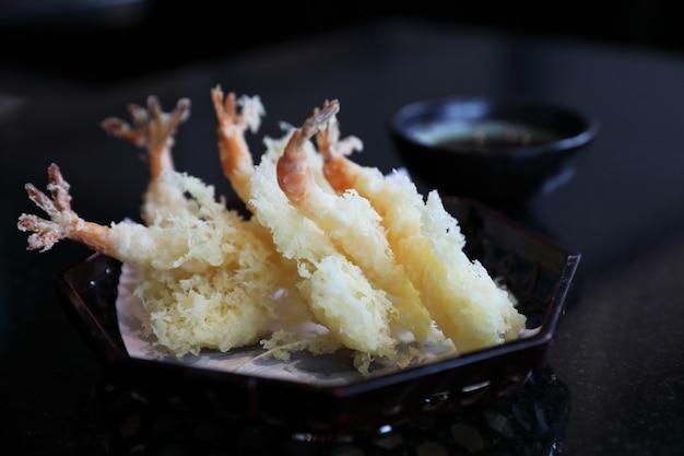 天ぷら海老フライ