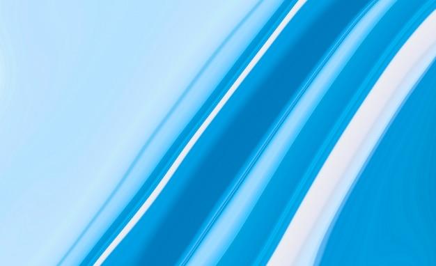 青い大理石のパターンは、美しいインクの背景を抽象化します。