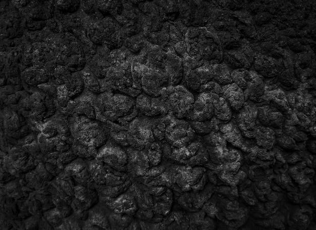 Темная абстрактная черная текстура