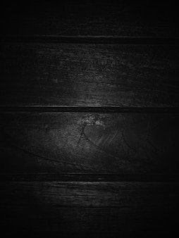 暗い黒の木製テクスチャ背景。