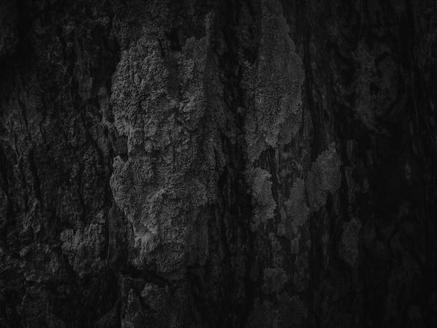 暗い黒のウッドテクスチャ背景。