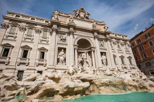 トレビの泉、ローマ、イタリア。