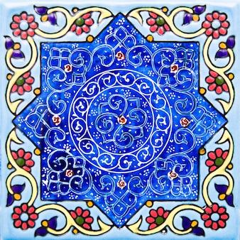イランの装飾的なセラミックタイル