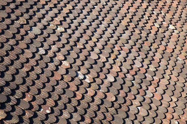 屋根瓦の背景