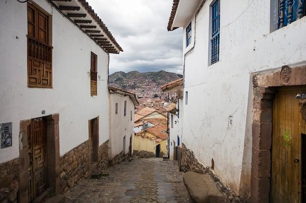 ペルーの町クスコ
