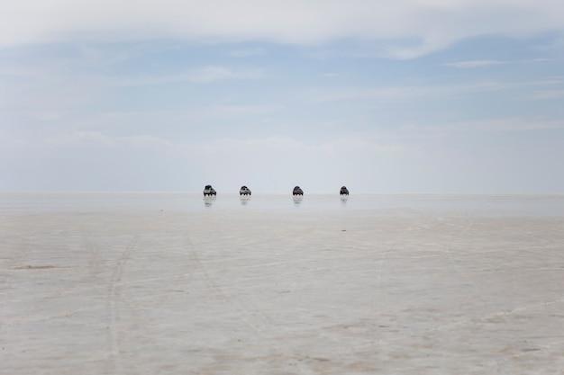 ボリビアのウユニ塩フラット
