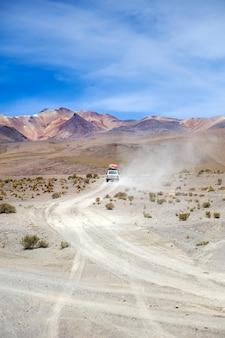 ボリビアのダリ砂漠