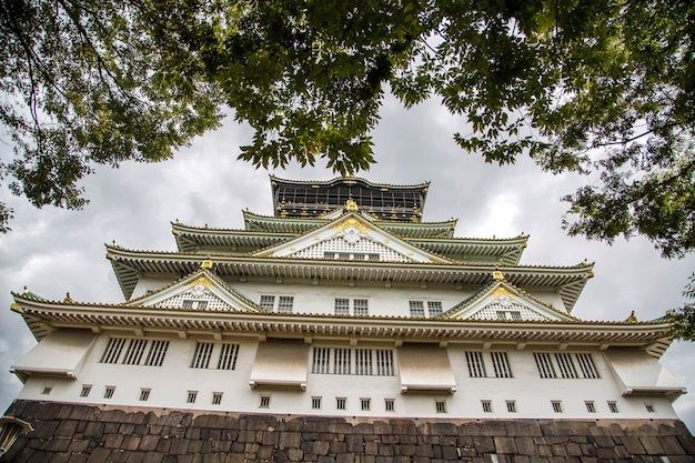 日本の大阪城