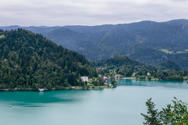 スロベニアのブレッド湖