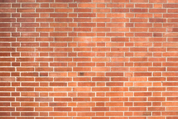赤レンガの壁のテクスチャ背景