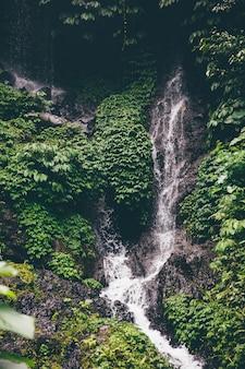 Водопад гитгит на бали, индонезия
