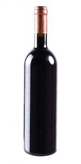 分離されたワインの瓶