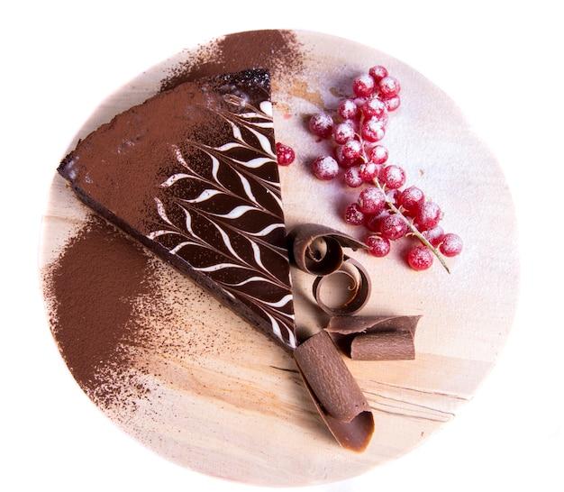 チョコレートタルトケーキ