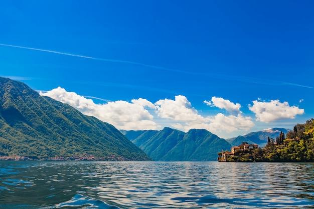 コモ湖(コモ湖)、イタリア