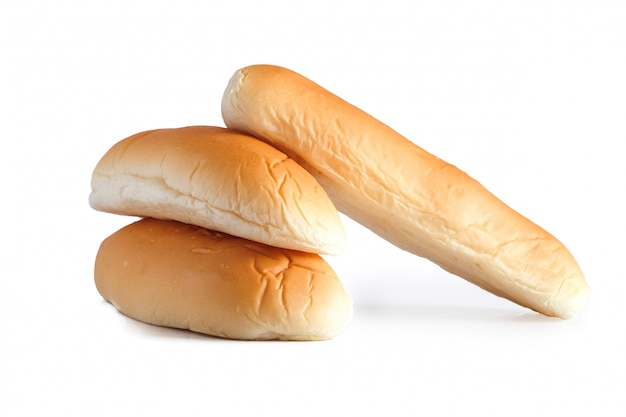 オーブンから焼きたてのパンの塊