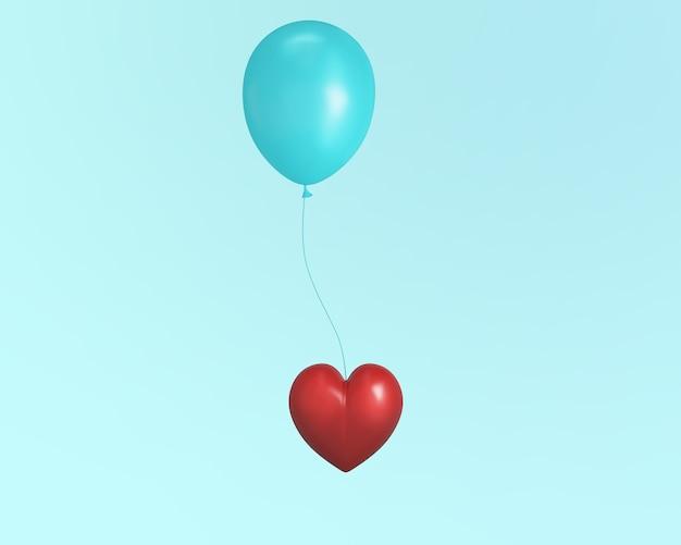 Выдающееся красное декоративное сердце