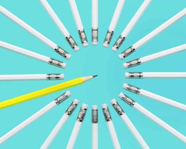 黄色の鉛筆