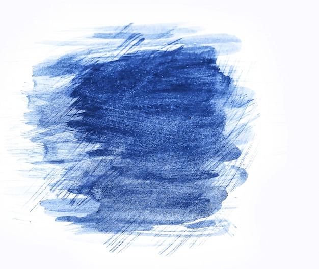 抽象的なブラシストロークと紙の上の塗料の飛散。水彩テクスチャ