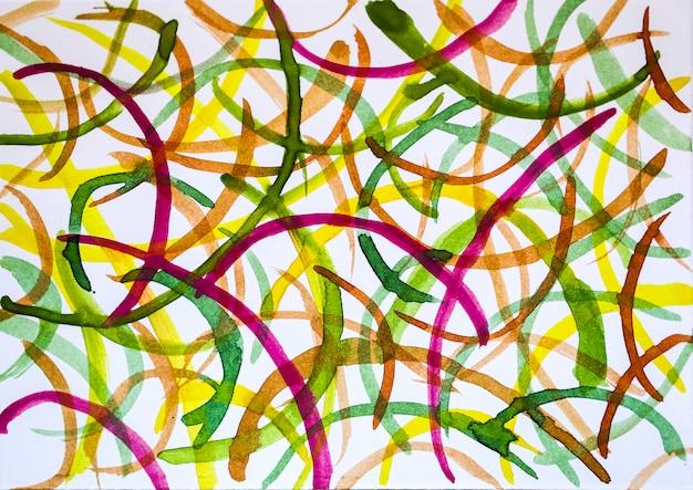 Абстрактная акварель дизайн со стилизованным в качестве фона.
