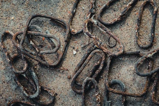 Арматурная сталь ржавчины для сваи (режущий и изгиб арматуры)